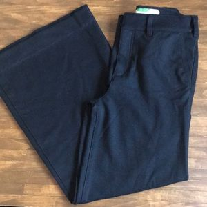 Anthropologie High waisted wide leg pants